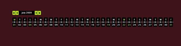 timeline calendar