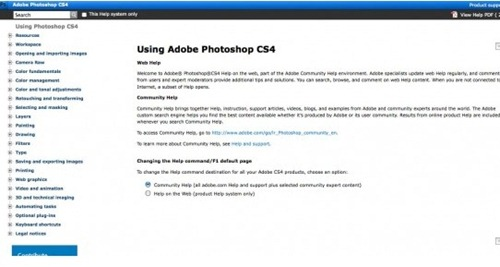 photoshop cs4 cheat sheet
