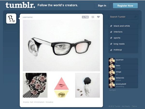 100 best photoshop web design tutorials tumblr template pronofoot35fo Choice Image