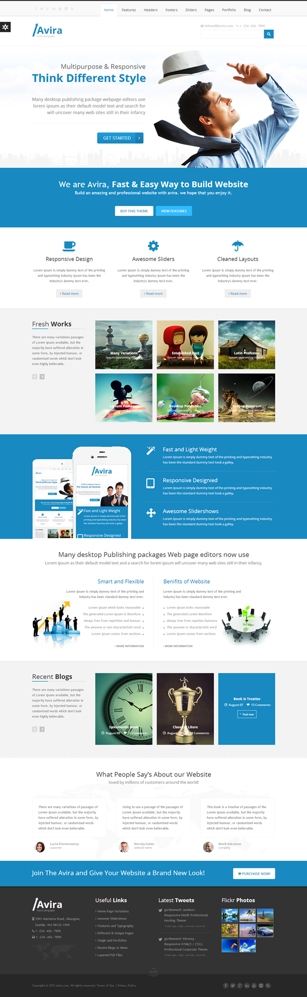 Avira   Multipurpose Template