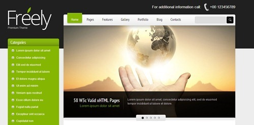 95 Best HTML5 CSS3 Website Templates