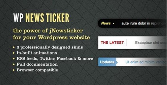 news ticker