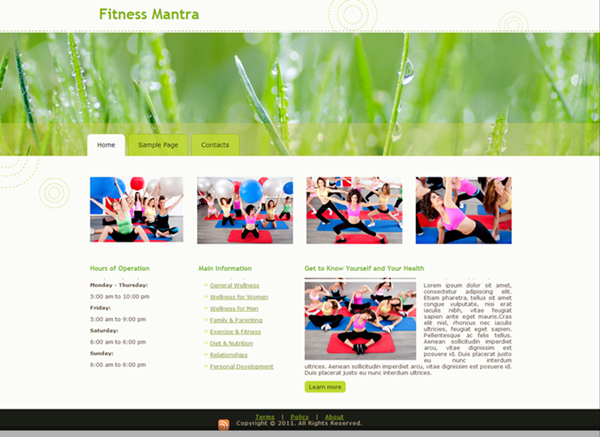 website-template4