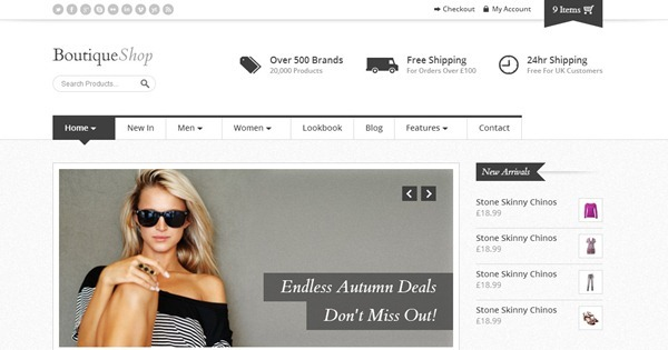 10 Best Fashion Website Templates