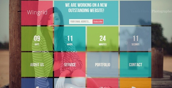 under construction website template
