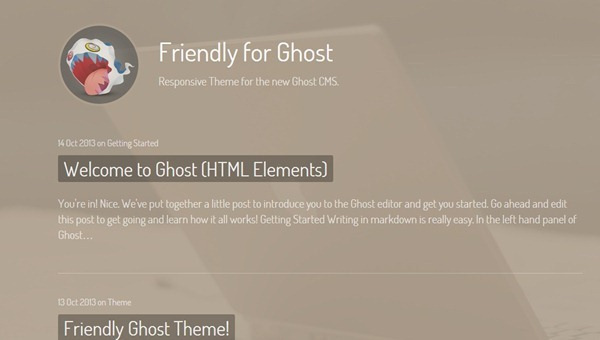 30 Best Ghost Themes For Professional Bloggers