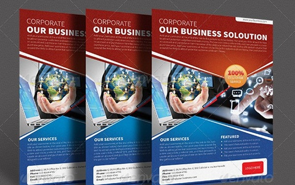 Professional Corporate Flyer Templates