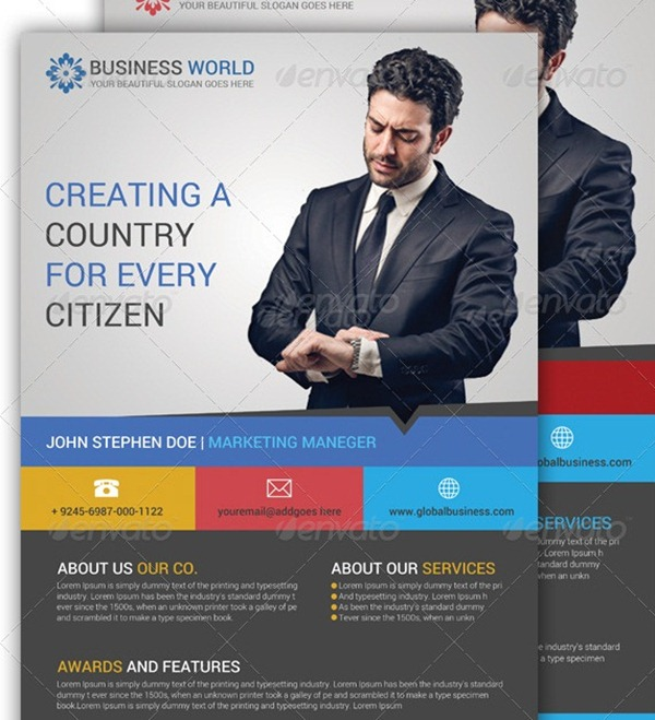 30 Professional Corporate Flyer Templates
