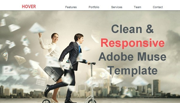 adobe muse templates
