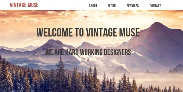 30 Best Muse Templates From January 2014