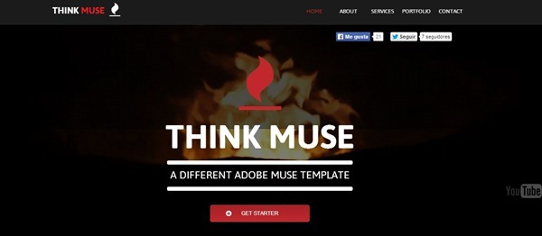 adobe muse mobile templates - 100 best adobe muse templates 2014 edition