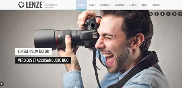 Best Photography Website Templates - Free photography website templates