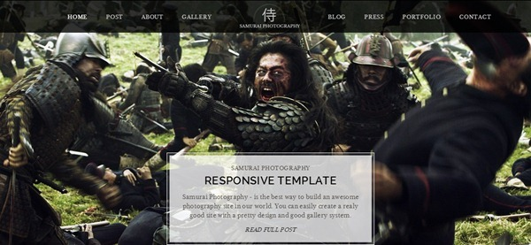 photography website templates