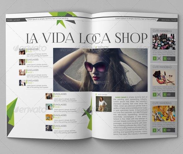 Brochure Catalog Template