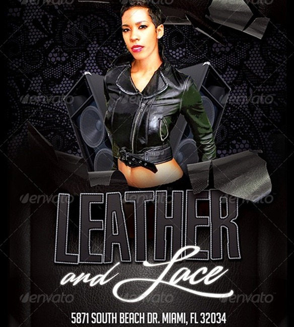 leather and lace dance party flyer aildoc productoseb co