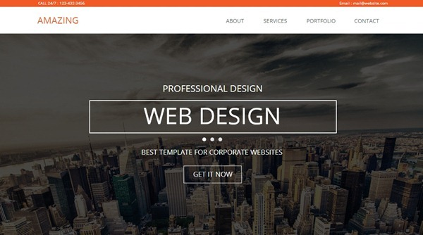 40 Professional Adobe Muse Templates