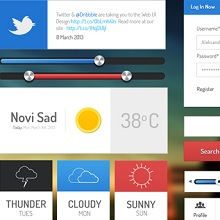 30 High Quality Free PSD App UI Kits