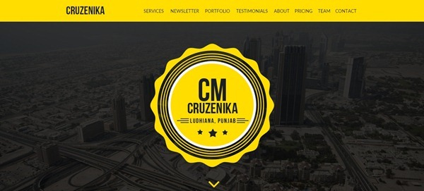 22 Best Adobe Muse Templates : October 2014 Edition