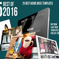 Best Adobe Muse Templates : September 2016 Edition