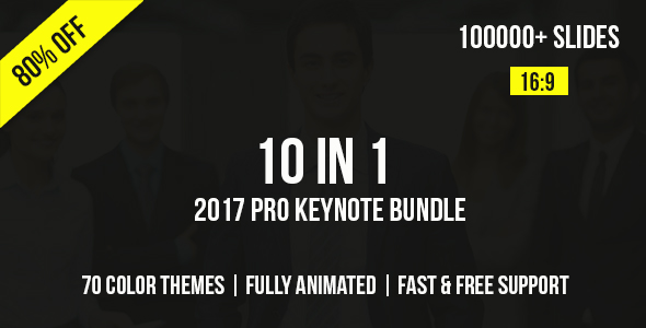 2021 Dynamic Report Keynote Templates Bundle - 8