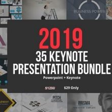 50 Best Keynote Templates From July 2019