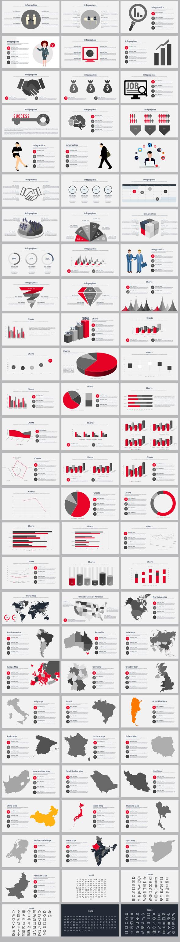 2021 Dynamic Report Keynote Templates Bundle - 6